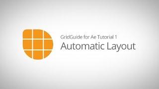 1 Ae için GridGuide Öğretici - Otomatik Düzeni