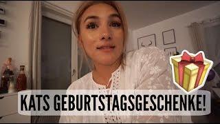 KATS GEBURTSTAGSGESCHENKE!   05.09.2017   AnKat