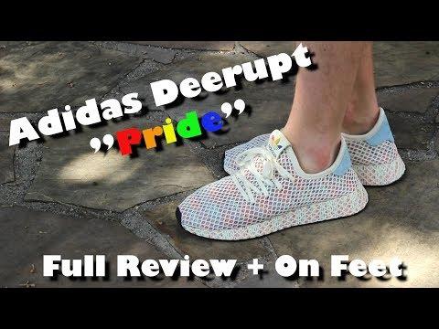 """Adidas Deerupt """"Pride""""   Full Review + On Feet"""