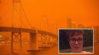video:   California wildfires: San Francisco sky turns apocalyptic orange