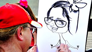 Drawing Portraits to make People Happy.