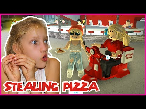 STEALING PIZZA
