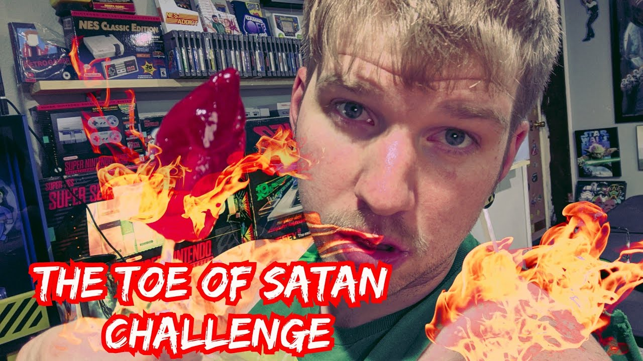 The Toe Of Satan Challenge | EPIC FAIL | Devil May Cry