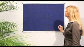 Текстильная доска серии Magnetoplan SP — Cool-Office.ru(Тип доски: текстильная информационная Поверхность доски: ткань Внутренний материал доски: прессованное..., 2013-11-04T21:58:53.000Z)