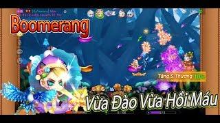 Garena DDTank:Boomerang Hoàng Kim Combo Đào|Vừa Đào Sâu Vừa Hút Khỏe