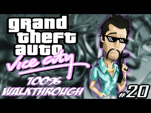 GTA Vice City [:20:] ALL Phil And Print Works Missions [100% Walkthrough]