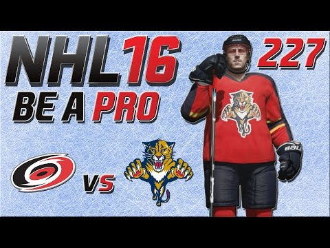 NHL 16 [Be A Pro][60fps][Deutsch] #227 - Carolina Hurricanes - Florida Panthers ★ NHL 16