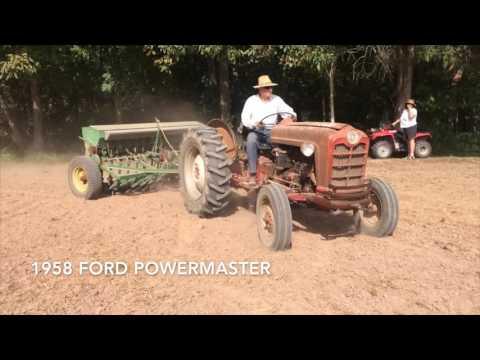 Planting Wheat John Deere Van Brunt FB A FB 137 A YouTube