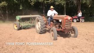 Planting Wheat - John Deere Van Brunt FB-A (FB 137 A)