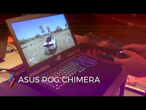 "Gaming on the ASUS ROG Chimera Notebook  - 17.3"" GTX 1080 144hz 