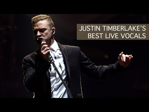 Justin Timberlake's Best Live Vocals