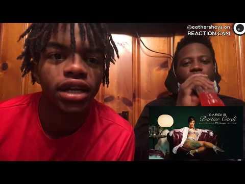 Cardi B  Bartier Cardi feat 21 Savage  Audio REACTION