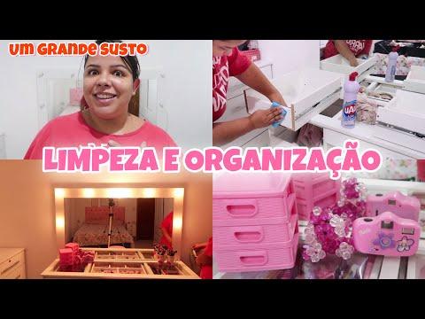 Limpando e organizando