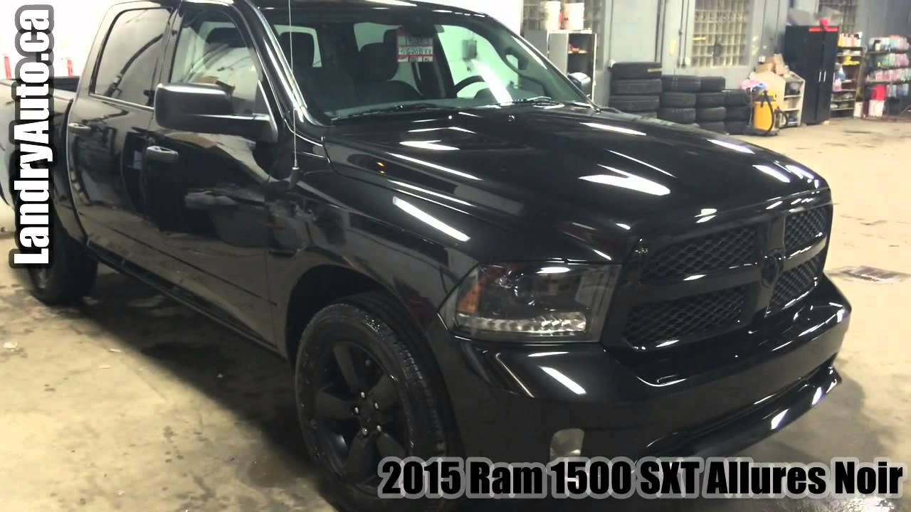 2015 ram 1500 sxt allures noir a vendre petit prix youtube. Black Bedroom Furniture Sets. Home Design Ideas