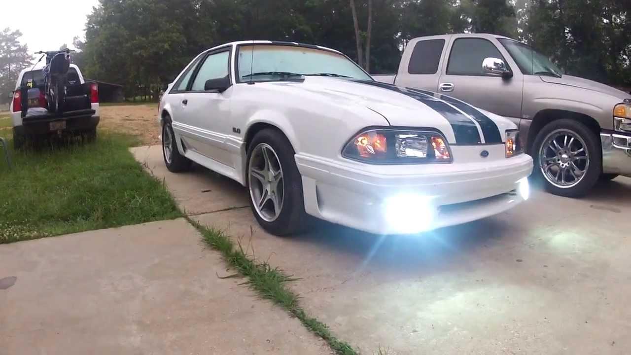 Mustang Gt Foglight Bypass Youtube