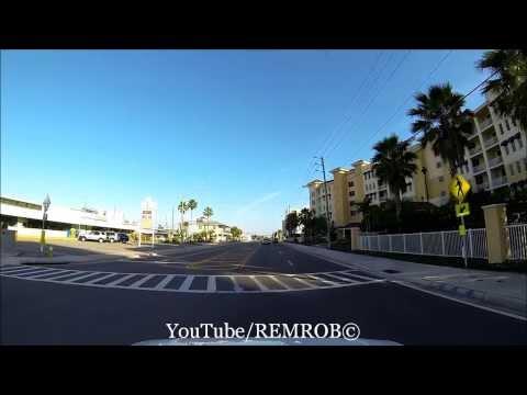 Driving Redington Shores, Florida