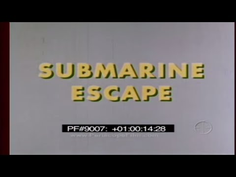 SUBMARINE ESCAPE - ESCAPE FROM A DISABLED SUBMARINE 9007
