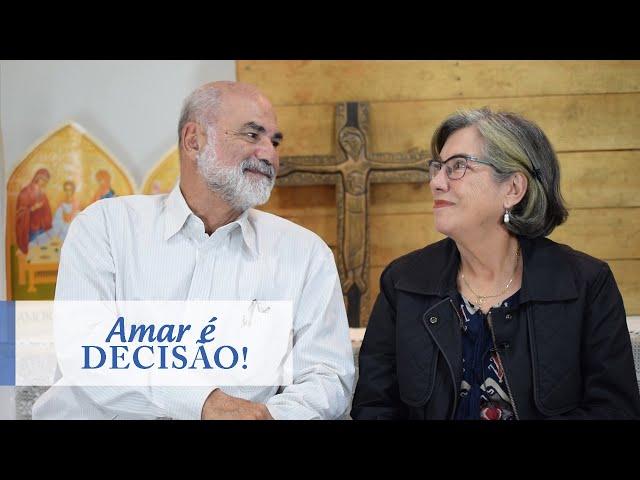 MAIS PERTO #18 | Amar é decisão | Cláudio e Corina Freitas