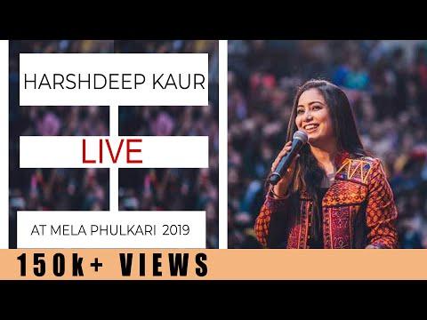 Harshdeep Kaur performing at Mela Phulkari 2019
