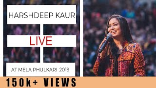 Harshdeep Kaur performing at Mela Phulkari 2019
