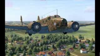 IL2 Sturmovik Cliffs of Dover - Fiat BR.20 Cicogna (Startup & Takeoff)