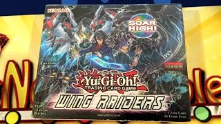 Yugioh Wing Raiders 1st Edition Unboxing - Tons of Xyz Monsters & 24 Packs!