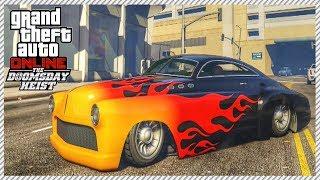 GTA 5 Doomsday Heist Online - Hidden & Unreleased Albany Hermes   The Most Beautiful Muscle Car