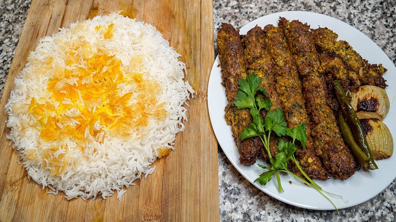 How to make persian saffron rice with tahdig kabab tabei pan how to make persian saffron rice with tahdig kabab tabei pan kebob iranian home cooking recipe forumfinder Images