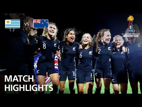 Uruguay v New Zealand  - FIFA U-17 Women's World Cup 2018™ - Group A