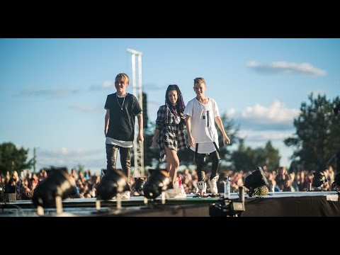 "Marcus & Martinus ""Light It Up"" feat. Samantha J @ Norway Cup 2016"