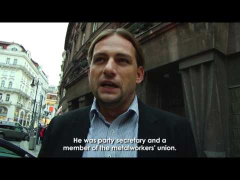 The headquarters of the Social Democrat Refugee Aid (english subtitles)