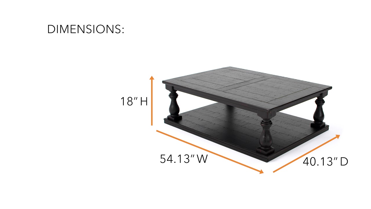 Ashley HomeStore Mallacar Coffee Table YouTube - Ashley mallacar coffee table