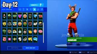 FORTNITE CHRISTMAS GIFTS LEAKED