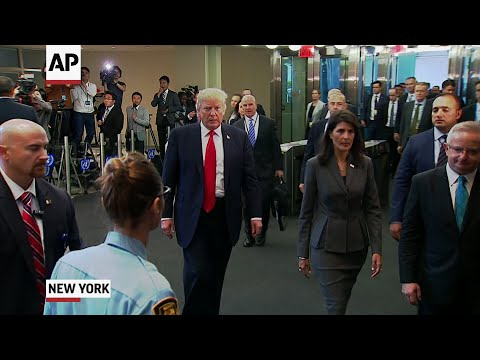 Trump at UN: Tight Security, High Expectations