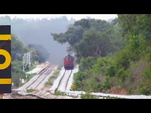 TWIN KINGFISHER ROLLER COASTER RIDE | 14009 BALDIE SPECIAL SMOKING | Indian Railways