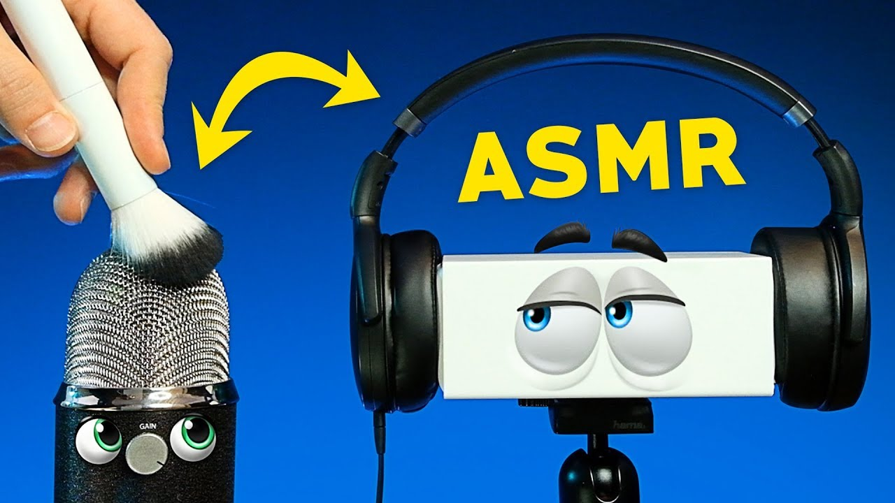 ASMR within ASMR – Mics Trigger Each Other Via Headphones (NO TALKING)