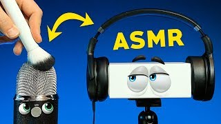 ASMR within ASMR - Mics Trigger Each Other Via Headphones (NO TALKING)
