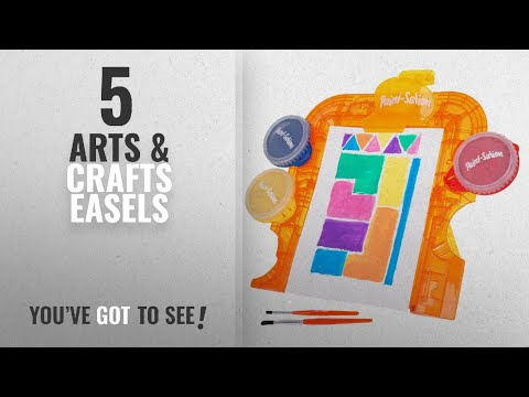 Top 10 Arts & Crafts Easels [2018]: Paint-Sation Mess Free Kids Paint - Easel