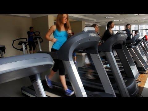 Занятия в тренажерном зале: 1. Похудение