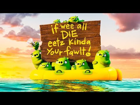 The Angry Birds Movie 2 All Trailers (2019) HD