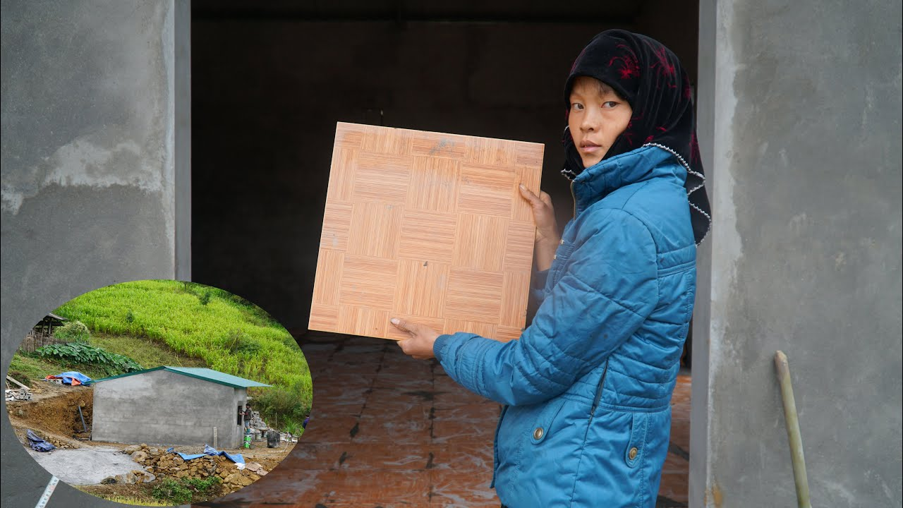 """Chị Sùng """"thẳng tay"""" chỉ đạo AE Thợ xuống gạch xuyên màn mưa, giao nhà trước ngày đã định... #TGM"""