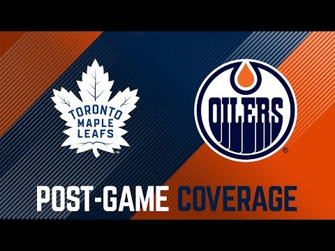 ARCHIVE | Oilers Post-Game Interviews at Maple Leafs