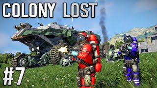 Space Engineers - Colony LOST! - Ep #7 - DRONE Scouts!!