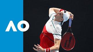 John Isner vs. Thiago Monteiro - Match Highlights (1R) | Australian Open 2020