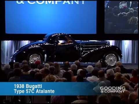2013 Scottsdale Auctions: 1938 Bugatti Type 57C Atalante