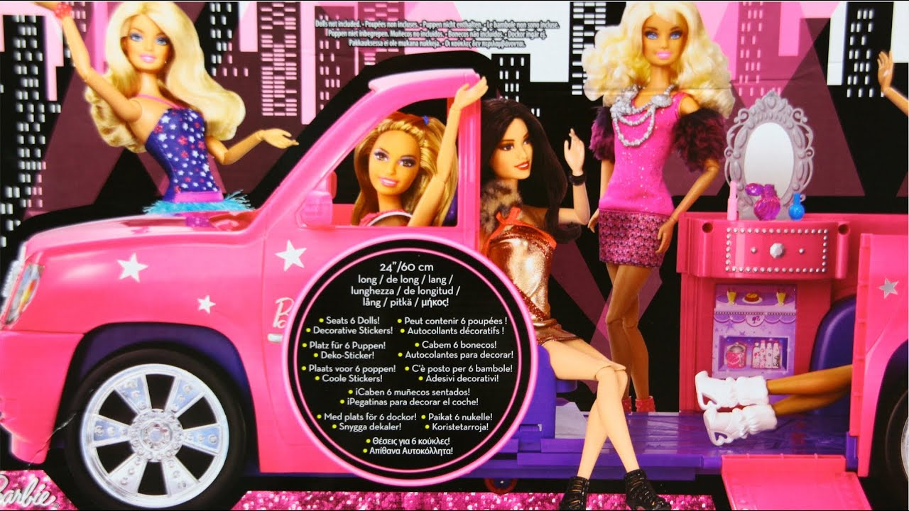 Ultimate Limo Limuzyna Barbie Fashionistas Mattel