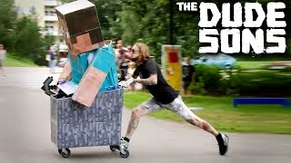 Minecraft Steve gone WILD in real life! - Minecraft Pranks 5