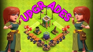 CLASH WITHOUT WALLS | Clash of Clans | SO MANY UPGRADES