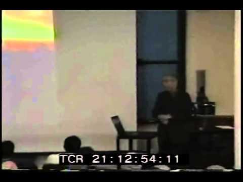 Leslie Robertson WTC collapse presentation (part 3)