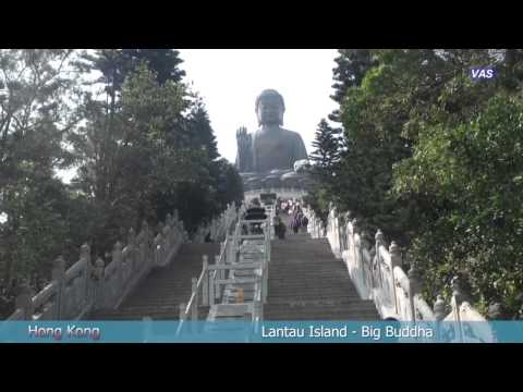 Hong Kong: Lantau Island, Cable Car, Gran Buda